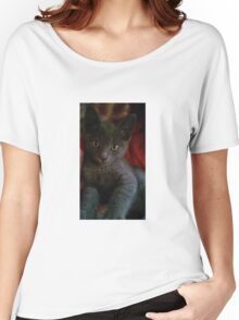 Russian Blue, may we save you? Women's Relaxed Fit T-Shirt