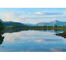 Beautiful Landscape viewed from Porthmadog Photographic Print