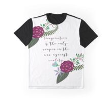 Weapon Against Reality, Alice in Wonderland Graphic T-Shirt