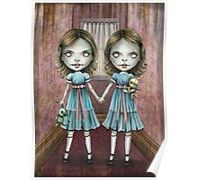 The Creepy Twins Poster