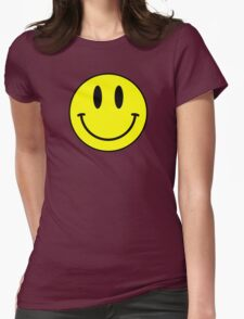 Acid House Smile Face Womens Fitted T-Shirt