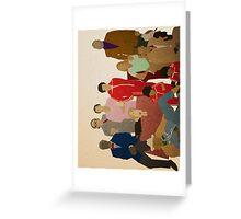 The Royal Tenenbaums Greeting Card