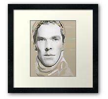 Benedict Cumberbatch Artwork Design 5 Framed Print