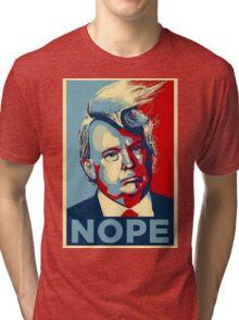 Trump Nope Tri-blend T-Shirt