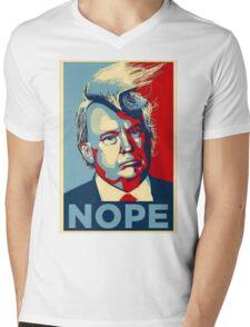 Trump Nope Mens V-Neck T-Shirt