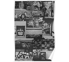 The Great Graffiti Collage Poster