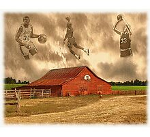 """Hoop Dreams"" Photographic Print"