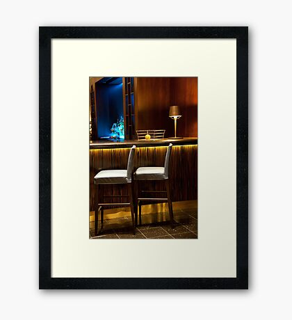 Siamese Chairs Framed Print