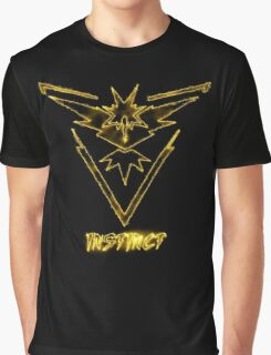 "Zapdos Team Instinct ""Just the Elements""  Graphic T-Shirt"