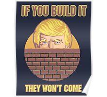 Trump Wall Poster