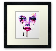Tears Of Artistry Framed Print