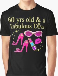 PINK PASSION 60 & FABULOUS BIRTHDAY Graphic T-Shirt