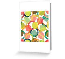 Colorful Circles Greeting Card