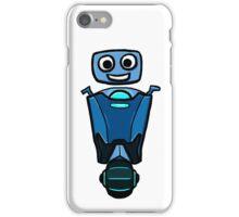 RRDDD Blue Robot iPhone Case/Skin