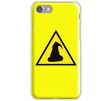 Hazard: Wizards Ahead iPhone Case/Skin