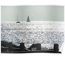 ships at sea Poster