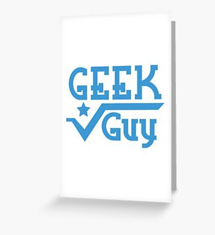 Geek Guy Greeting Card
