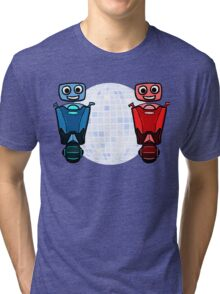 RRDDD Red and Blue Disco Tri-blend T-Shirt