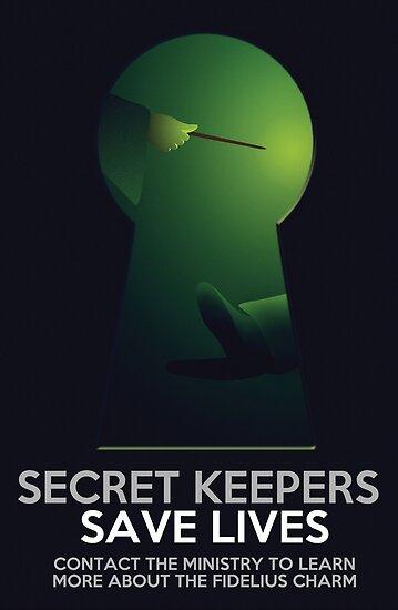Secret Keepers Save Lives by flyingpantaloon