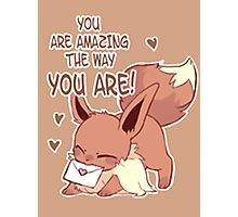 Eevee Love Photographic Print