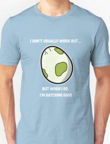 Egg workout Unisex T-Shirt