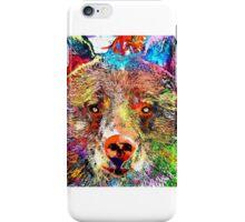 Bear Grunge iPhone Case/Skin