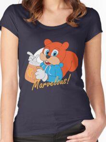"""Marvelous"" - Conker  Women's Fitted Scoop T-Shirt"