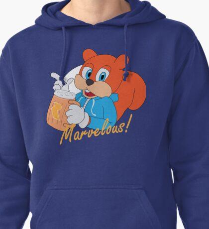 """""""Marvelous"""" - Conker  Pullover Hoodie"""