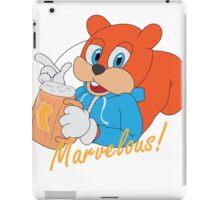 """Marvelous"" - Conker  iPad Case/Skin"