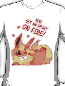 Flareon Love T-Shirt