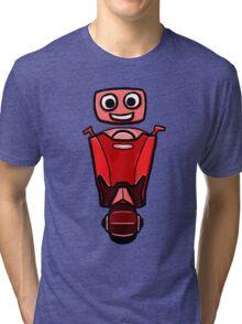 RRDDD Red Robot Tri-blend T-Shirt