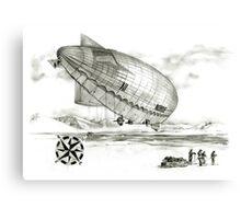 Secret diary of Roald Amundsen. Canvas Print