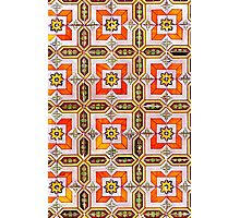 Iberian Moorish Style Pattern Photographic Print
