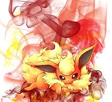 Flareon by Savvy S