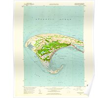Massachusetts  USGS Historical Topo Map MA Provincetown 350493 1958 24000 Poster