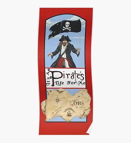 It's a Pirate's Life For Me! Poster