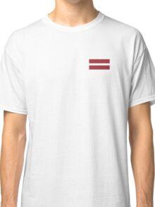 Latvia Flag Classic T-Shirt