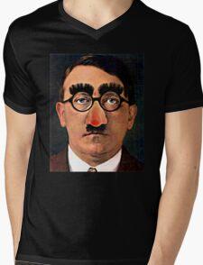 Fuhrer Fun - Adolf Hitler Mens V-Neck T-Shirt