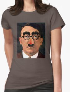 Fuhrer Fun - Adolf Hitler Womens Fitted T-Shirt