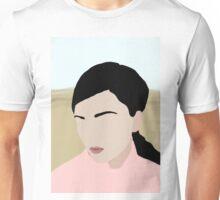 Abigail: a minimal portrait Unisex T-Shirt