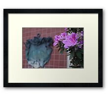 Pirates of the Caribbean Flowers Framed Print