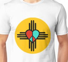 Love, New Mexico, Peace Unisex T-Shirt