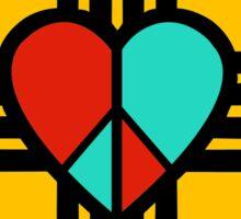 Love, New Mexico, Peace Sticker