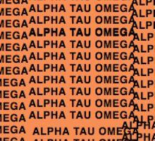 The Life of Alpha Tau Omega Sticker