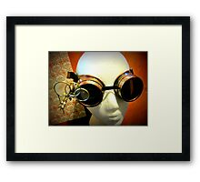 Steampunk Goggles 1.0 Framed Print
