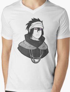 /:Uchiha Sasuke:/ Mens V-Neck T-Shirt