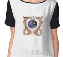 hands around the world  Chiffon Top