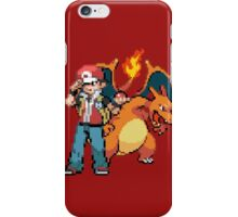 Red and Charizard iPhone Case/Skin