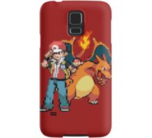 Red and Charizard Samsung Galaxy Case/Skin