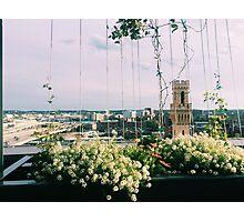 Boston Rooftop Photographic Print